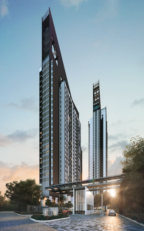 alix residences, luxury residential, kiara north